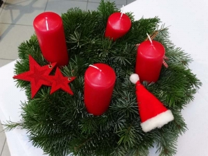 Adventkranzweihe